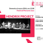 Festival Percorsi Jazz: Hendrix Project ft. Fabio Zeppetella